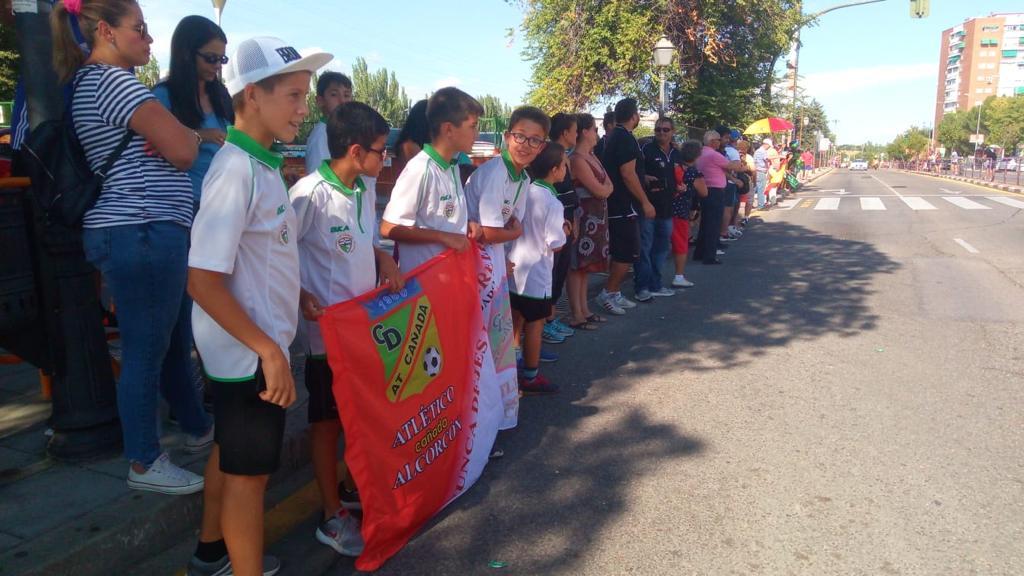 El Atlético Cañada Alcorcón partícipe de la Vuelta Ciclista a España 2018