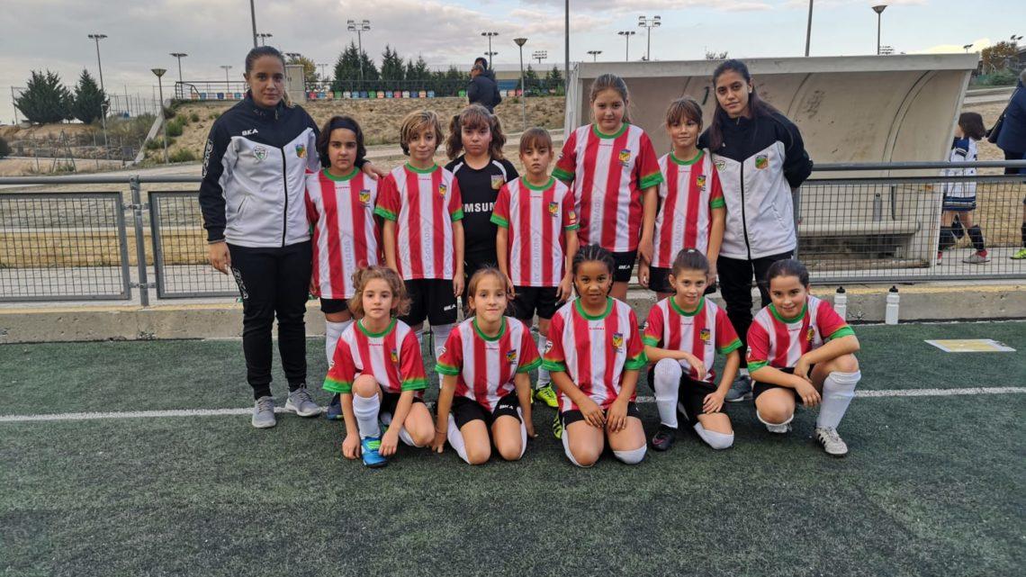 CRÓNICA/ Alevín Femenino – Gran trabajo de las alevines a pesar de la derrota frente al C.F. Pozuelo Alarcón