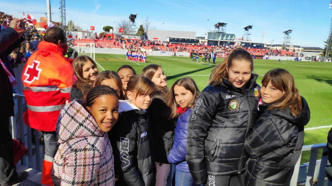 Nuestras chicas asisten a la seminifinal de la Copa de la Reina
