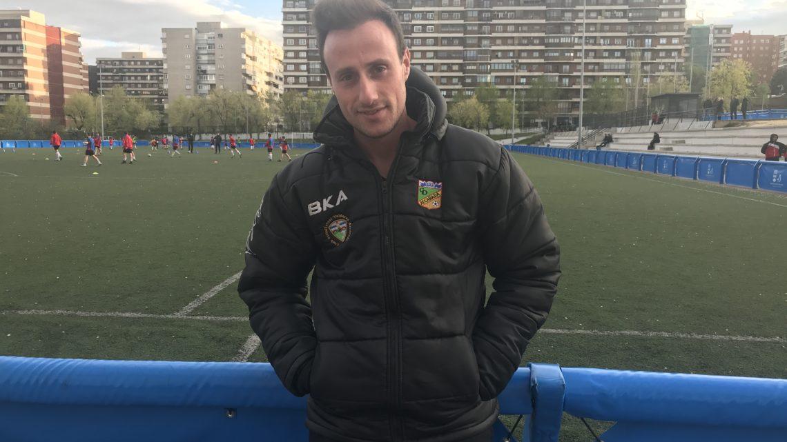 """Alberto Grande, nuevo entrenador del Alevín: """"Vengo con muchas ganas e ilusión"""""""