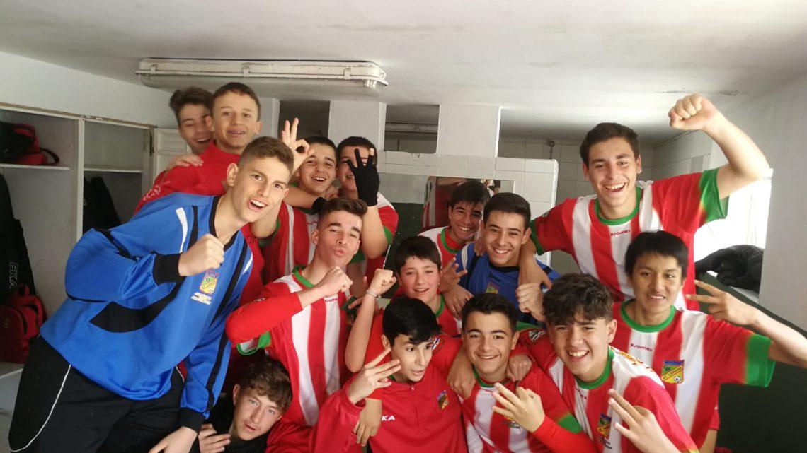 """El Cadete """"B"""" vence al Deportivo Yuncos en un partido muy disputado"""