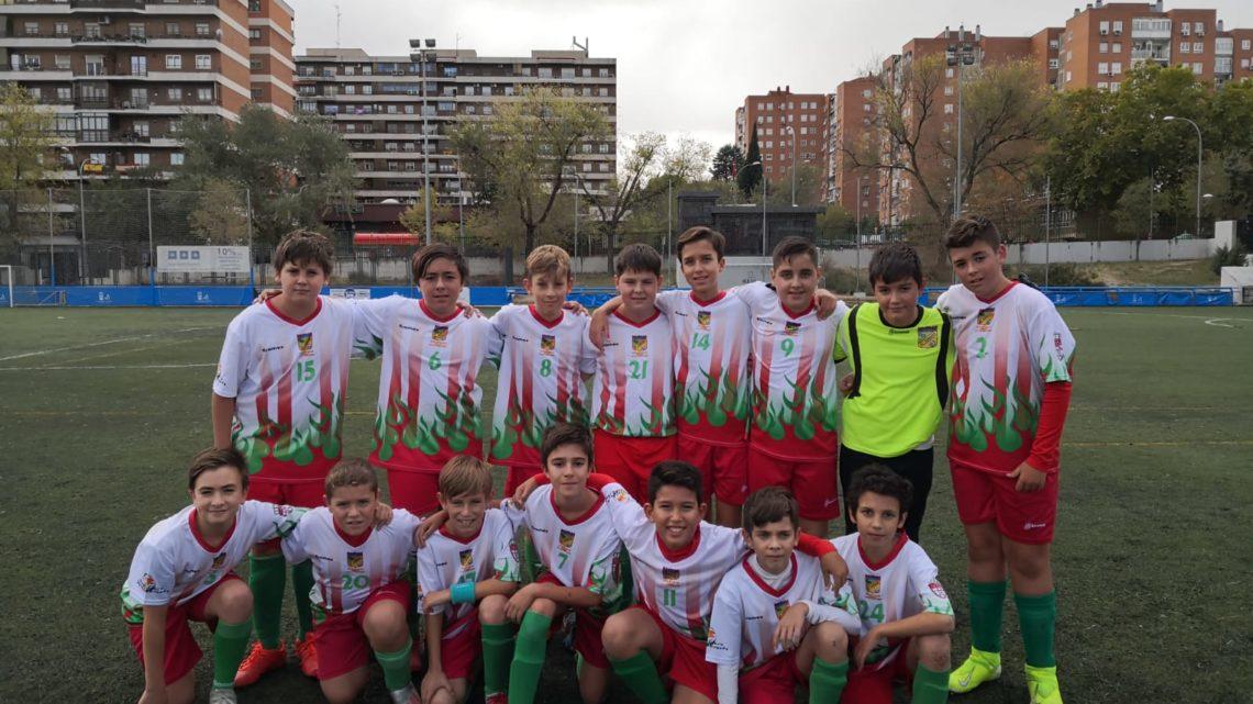 """El Infantil """"B"""" vence al Leganés Academia en un partido muy intenso"""