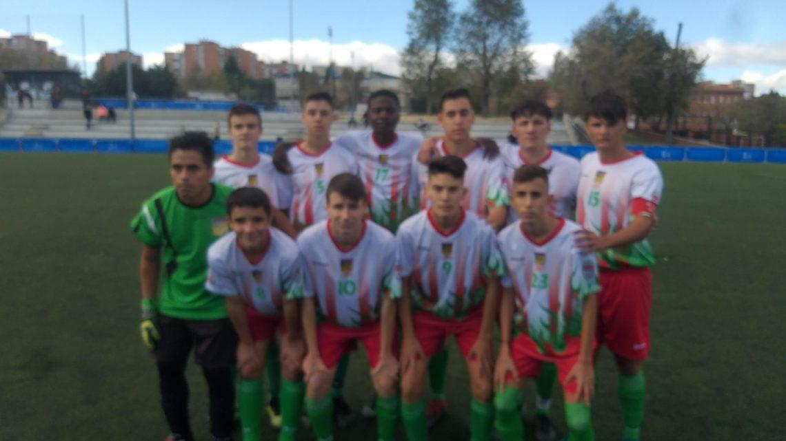 """El Juvenil """"A"""" gana al Estudiantes Alcorcón en un partido muy disputado"""