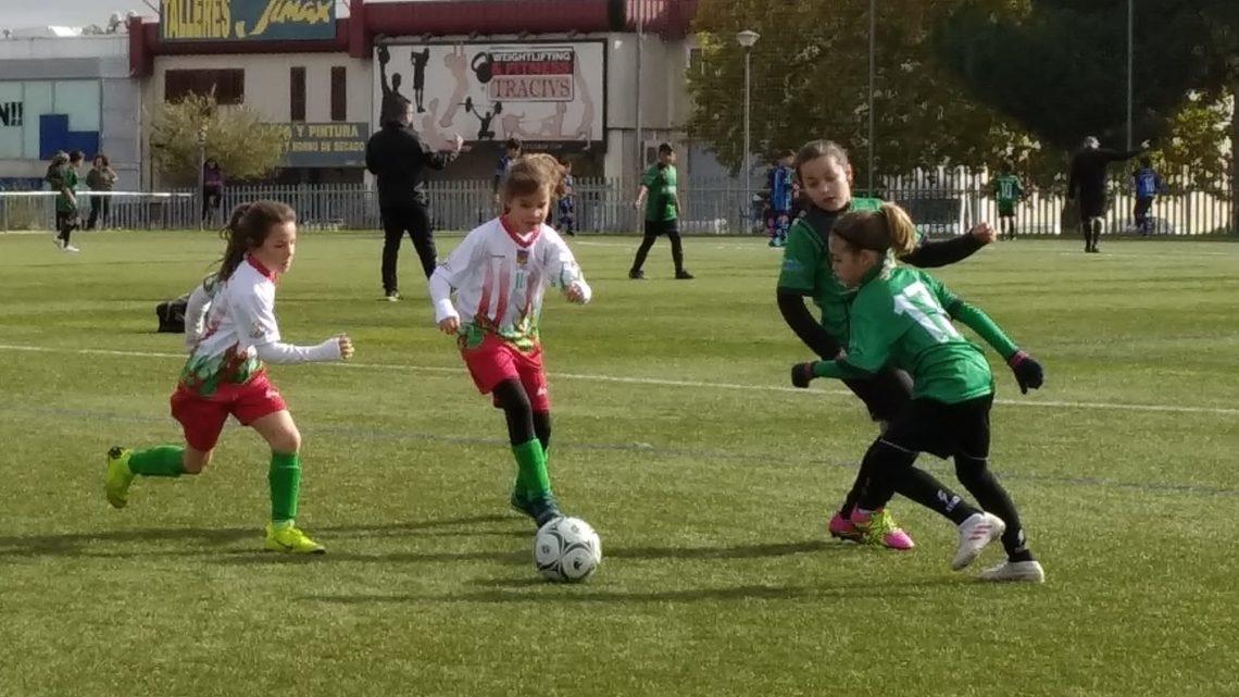 Primer partido de nuestras niñas del Benjamín