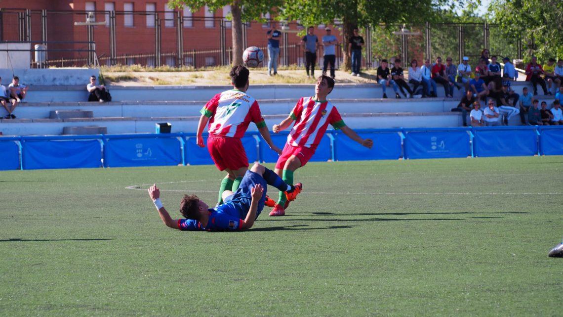 """Pablo Uriarte, jugador del Cadete A: """"Dentro de 10 años seguiré jugando al fútbol"""""""