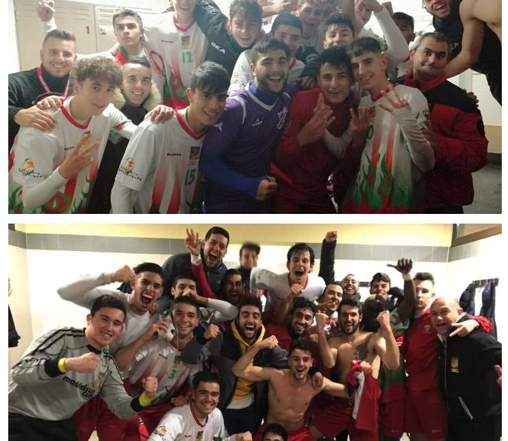 "El Juvenil ""B"" y el Primer Equipo logran el ascenso"